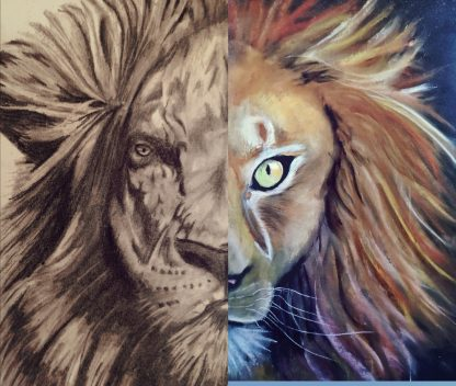 dubbele leeuw